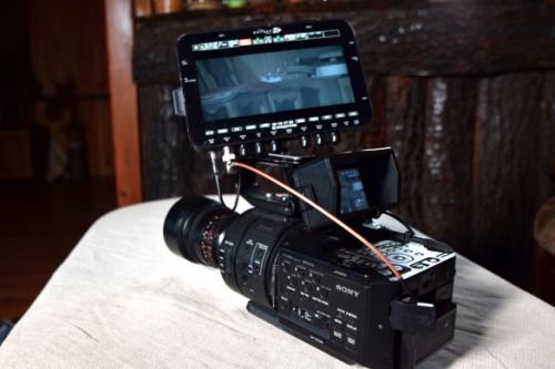 Sony FS700 with OdysseyQ7+ recorder