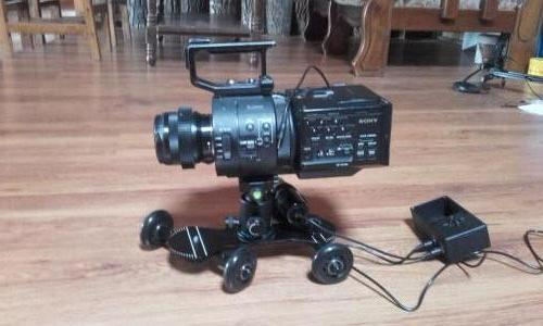 Dolly and Sony FS700 high speed camera