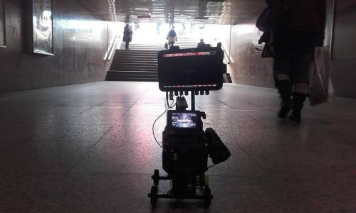 Dolly and Sony FS700high speed camera